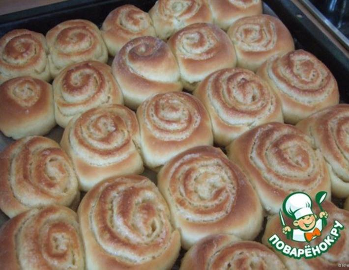 Хлебные булочки с овсяными отрубями
