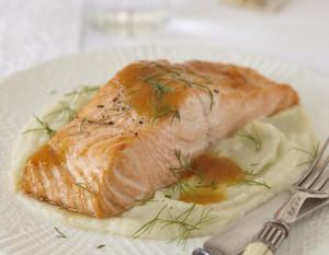 Стейк лосося в духовке в фольге: готовим пошагово
