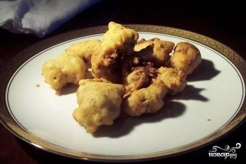 Куриная печень в кляре: рецепт с фото пошагово