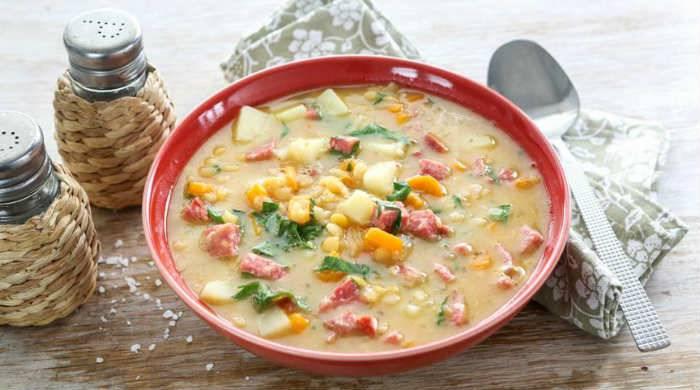 Гороховый суп-пюре туркменский