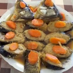 Гефилте фиш по-азербайджански (фаршированная рыба)