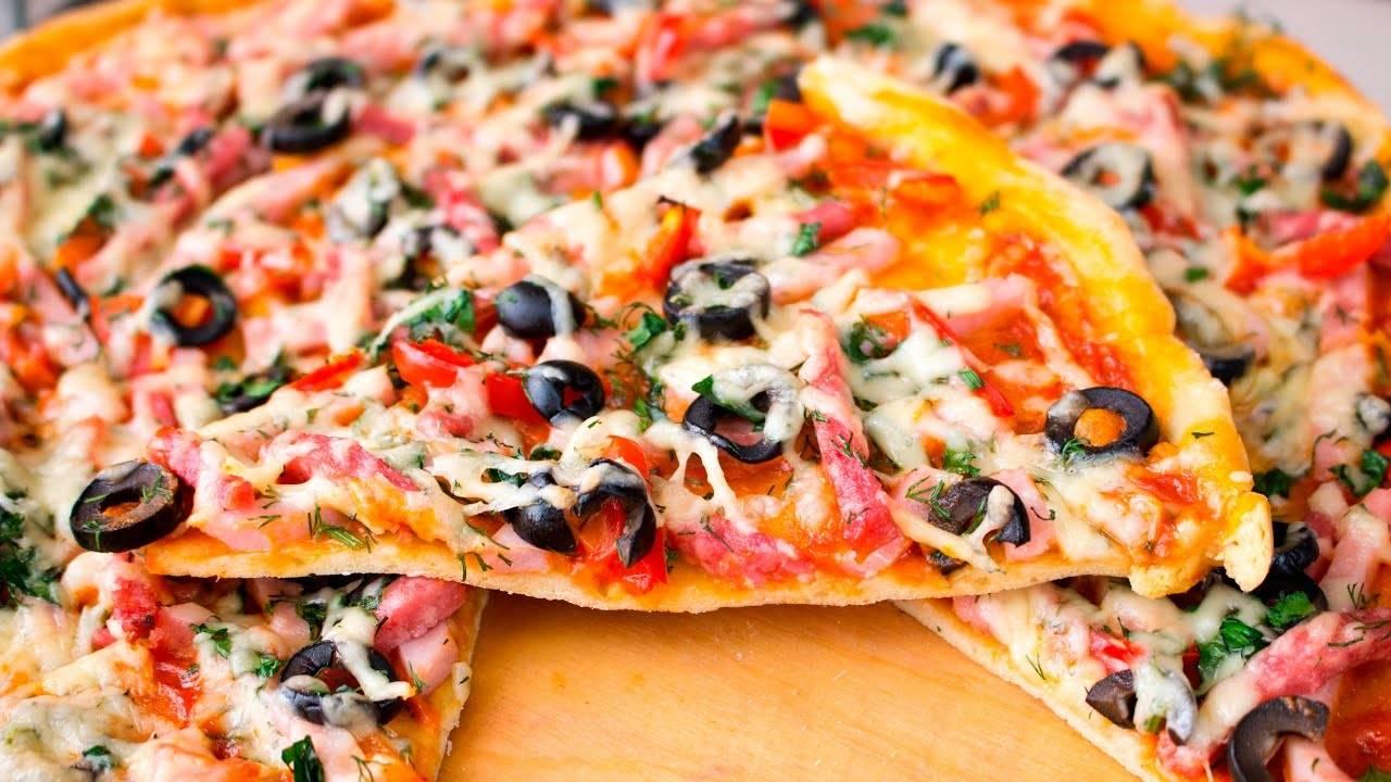 Как приготовить бездрожжевое тесто для пиццы