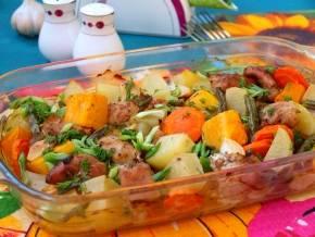 Горячие блюда из индейки - рецепты