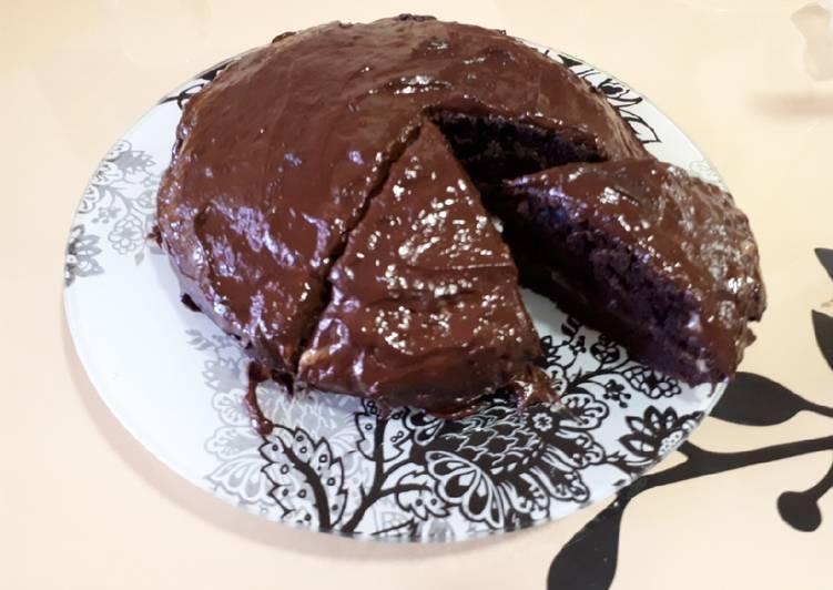 Шоколадный торт без муки - пошаговый рецепт с фото |  выпечка