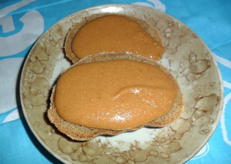 Домашняя арахисовая паста — рецепт из одного ингредиента
