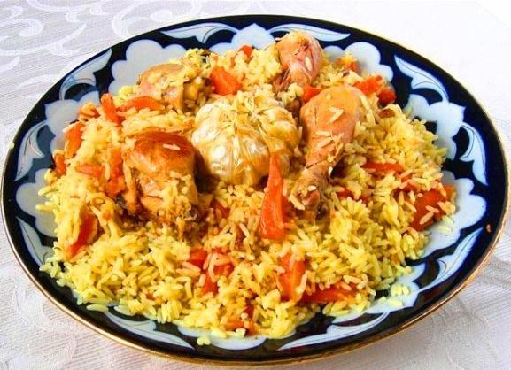 Плов с курицей в мультиварке - вкусное и очень простое в приготовлении блюдо