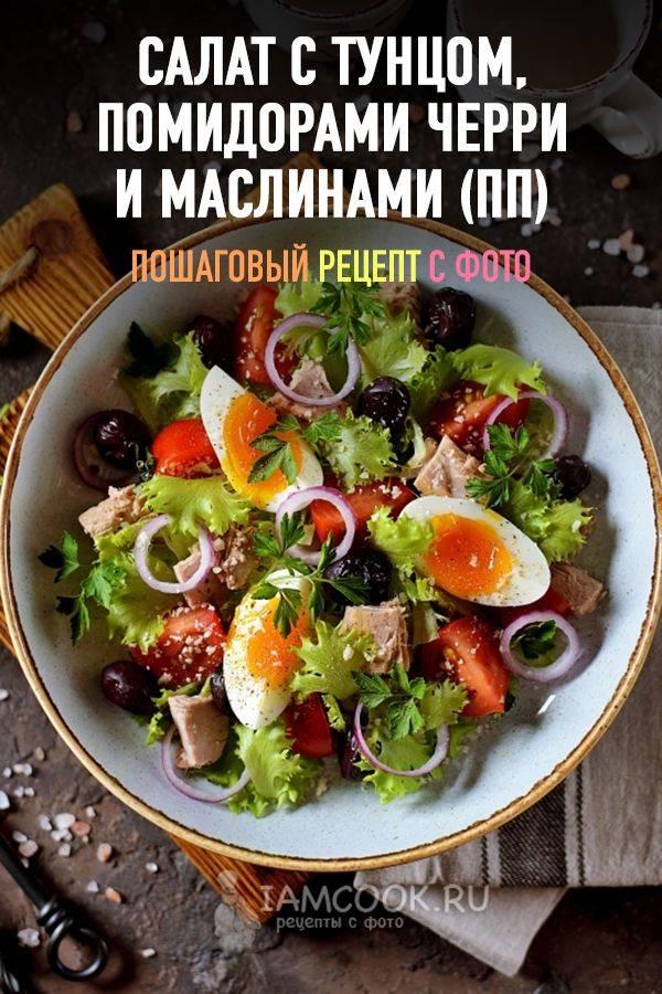 Салат с тунцом и маринованным огурцом - 6 пошаговых фото в рецепте
