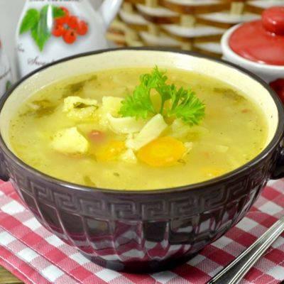 Как сварить куриный суп с лапшой