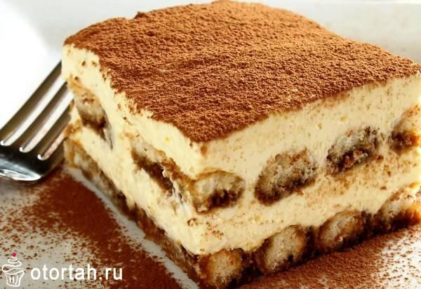 Рецепт домашнего тирамису из печенья савоярди