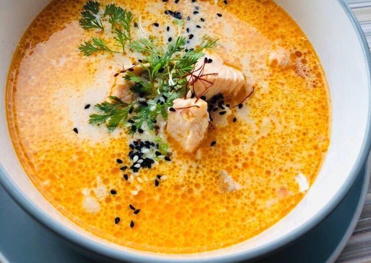 Суп норвежский с семгой — рецепт с фото. как приготовить норвежский суп из семги со сливками?