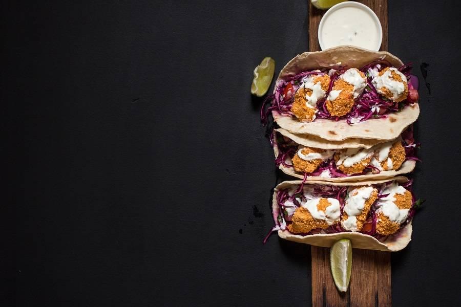 Тако- аппетитные лепешки по-мексикански с сытной начинкой