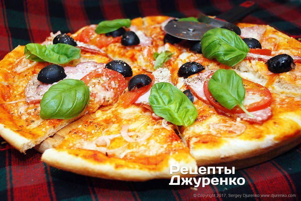 Как приготовить пиццу со свининой