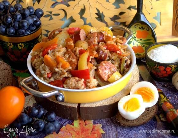 Рисовое рагу с овощами