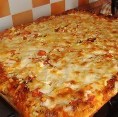 Хлеб и пицца с тремя сырами по-итальянски