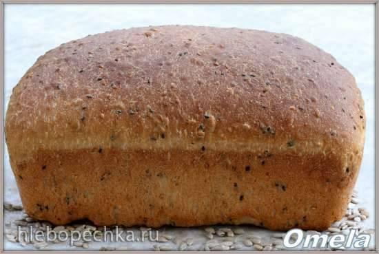 Хлеб с семечками: польза, рецепты и калорийность   food and health