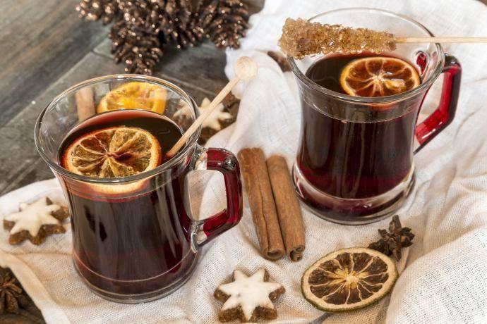 Глинтвейн с медом и лимоном: рецепт с фото пошагово