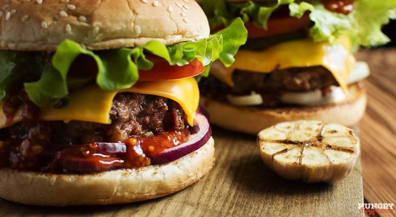 Гамбургер в домашних условиях, рецепт фото