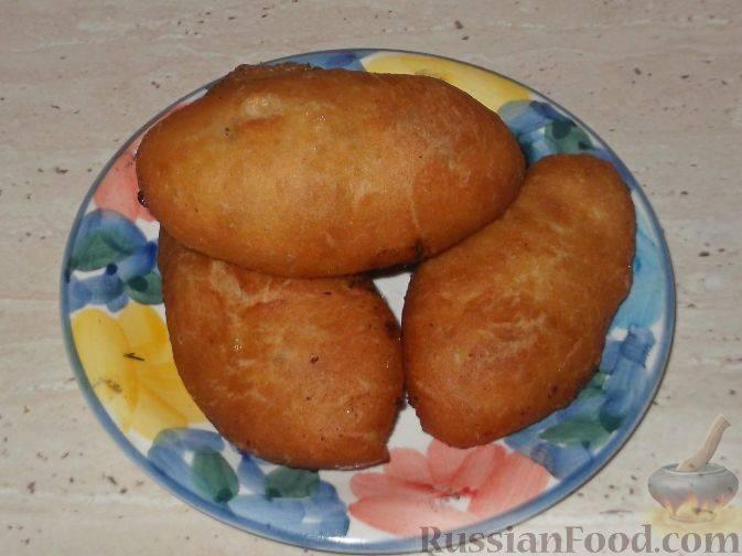 Печеные пирожки с яблоками