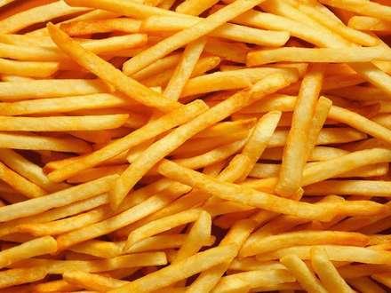 Картошка фри целиком