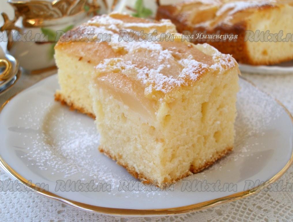 Очень вкусный пирог на йогурте