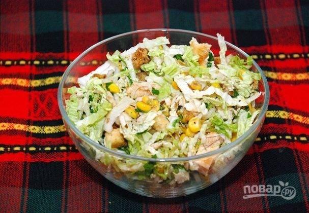 Салаты без майонеза, вкусные рецепты с фото