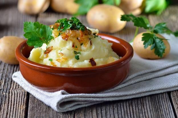 Картофельное пюре с паприкой