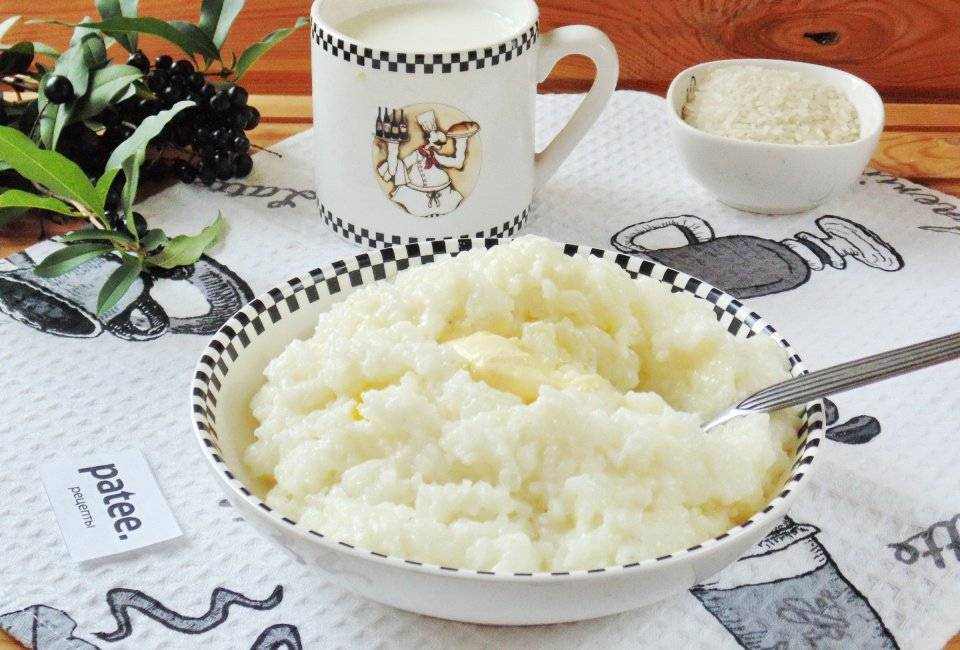 Каша рисовая в мультиварке на молоке рецепт