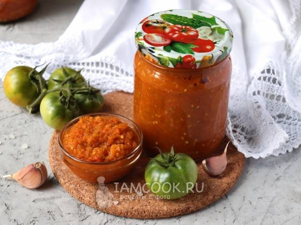 Икра из зеленых помидоров на зиму: просто и вкусно