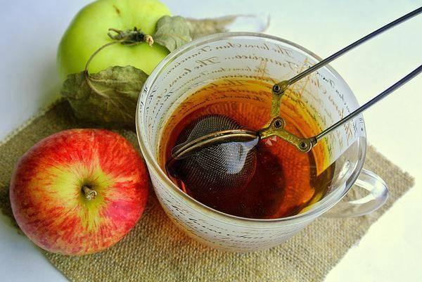 Чай из листьев яблони | cofete.ru