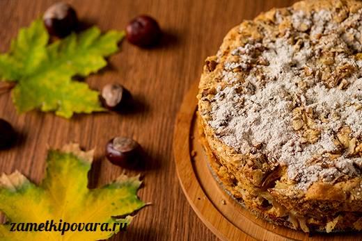 Пряный свекольный кекс с грецкими орехами