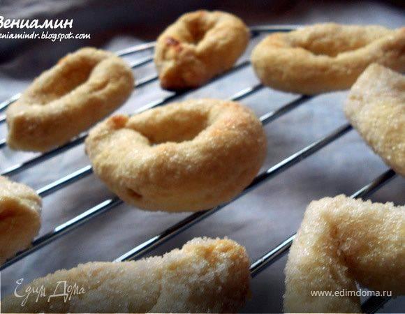 """Итальянское сахарное печенье """"торкетти"""""""