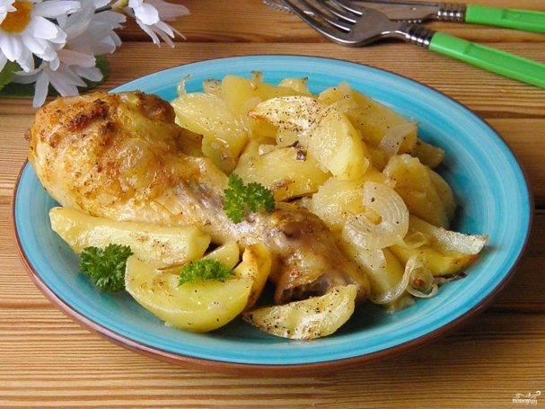 Секрт приготовления ножек курицы с картофелем в мультиварке