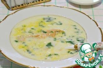 Быстрый сливочно-грибной суп