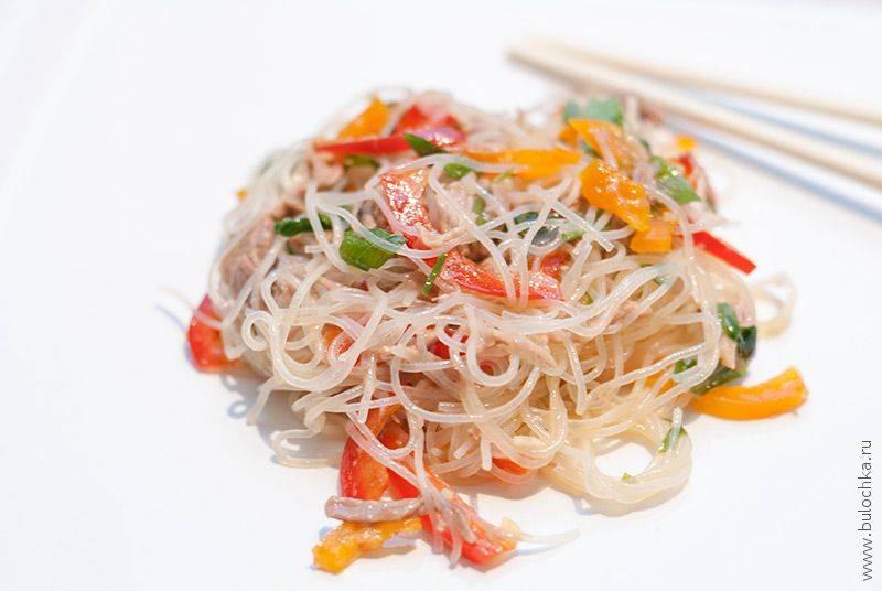 Салат фунчоза с овощами: 9 ярких рецептов |