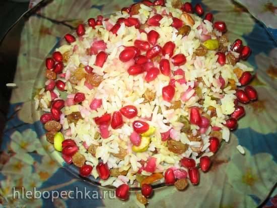 Блюда из граната рецепт с фото