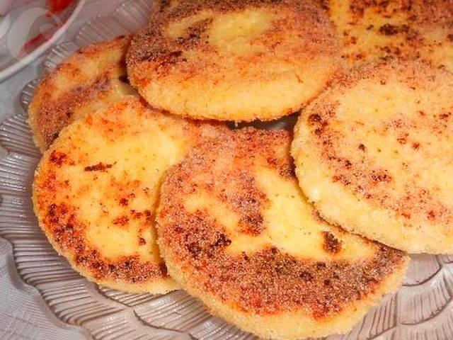 Сырники в духовке без муки