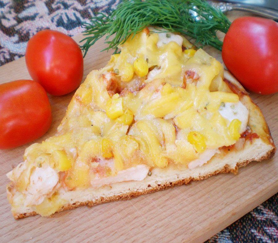 Пицца гавайская с ананасами рецепт
