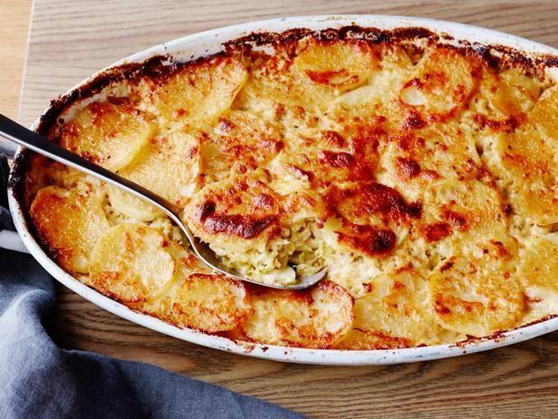 Картофельный гратан