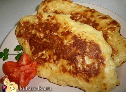Ленивые пирожки с картофелем рецепт с фото