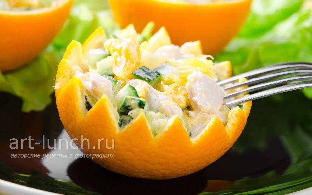 Рецепты салатов из свежих огурцов