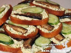 Бутерброды со шпротами – 7 лучших рецептов