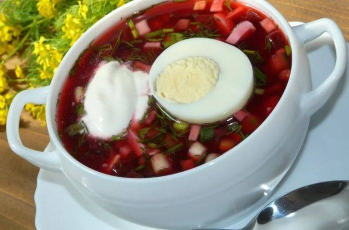 Как приготовить холодный борщ: 7 рецептов от классического и литовского до вегетарианского
