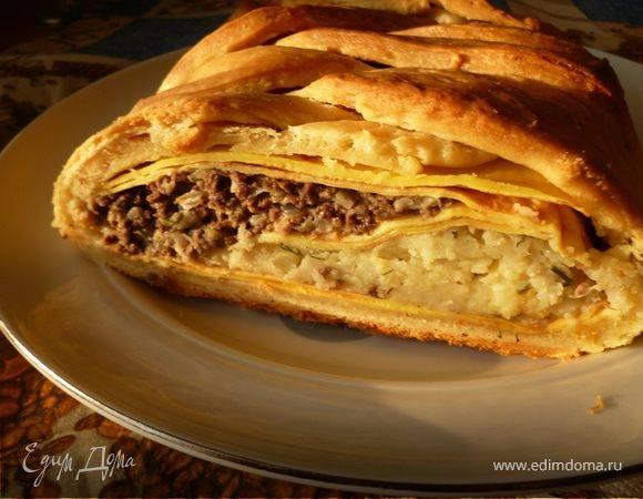 Русская кулебяка с рыбой (russian fish pie «coulibiac») - вкусные заметки