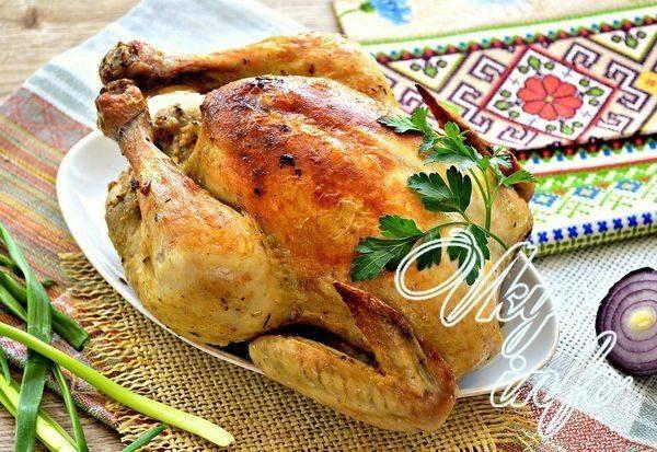 Пряная курица за час