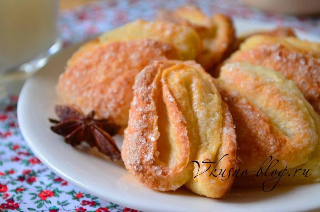 Рецепты печенье лапки