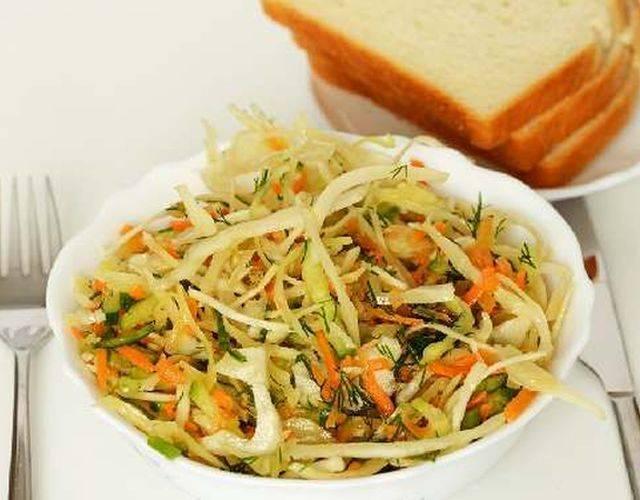 Рецепт зеленого салата