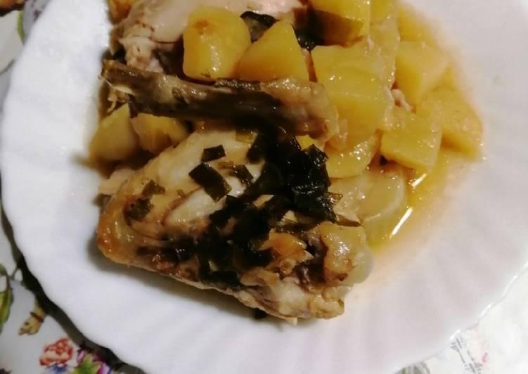 Курица в духовке с картошкой и кабачками