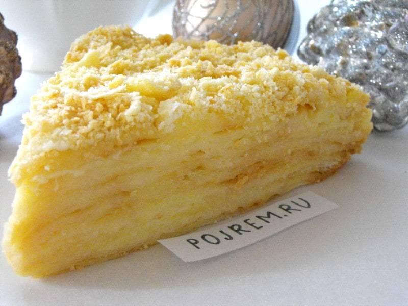 Пошаговый рецепт крема для торта «наполеон»