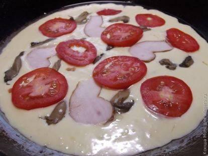 Пицца с ветчиной, помидорами черри и моцареллой - рецепт с фотографиями - patee. рецепты