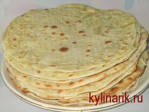 Лаваш в домашних условиях - рецепты тонкого армянского или пышного грузинского хлеба